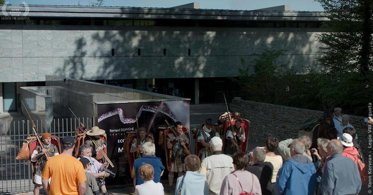 le départ du musée de Bibracte