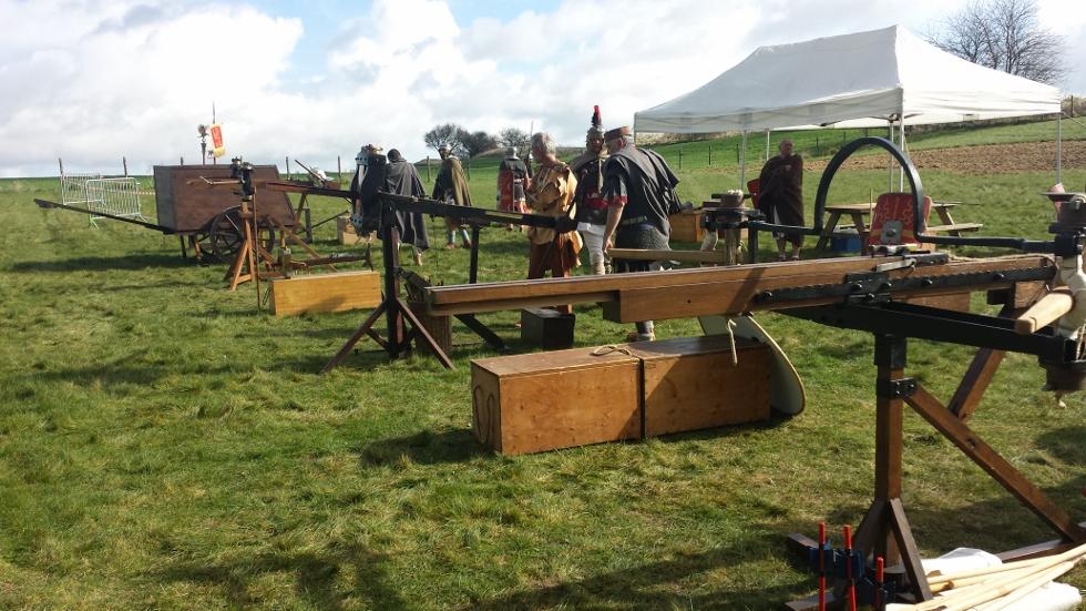 Parc de Samara : artillerie romaine, 2014