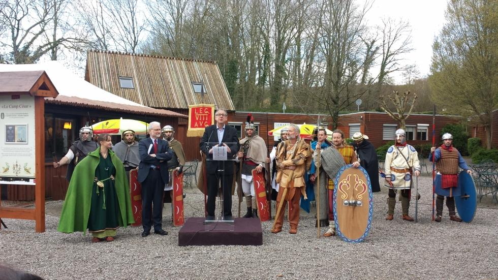Inauguration de la saison 2014 et ouverture du parc de Samara au public