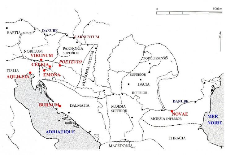 Balkans et Pannonie