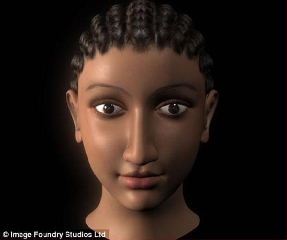 L'égyptologue Sally Ann Ashton a redessiné le portrait de cette reine à partir des fresques et fouilles historiques. D'après cette historienne, la reine était métisse Grecque et Egyptienne. Voici le résultat réalisé grâce aux technologies 3D CGI.