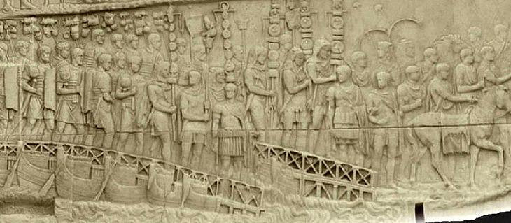 Détail de la colonne trajane