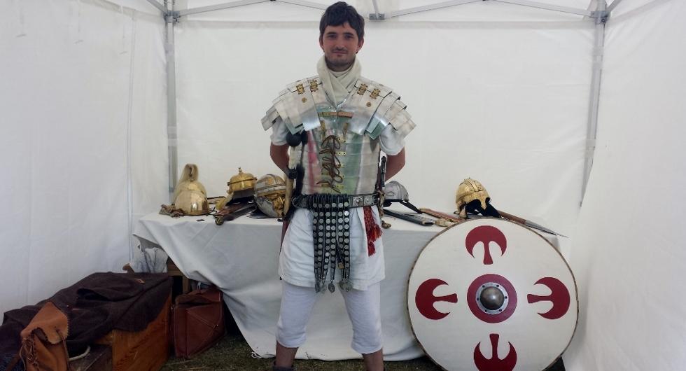 Stand sur l'évolution de l'armée romaine