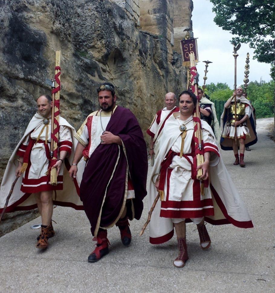 Hadrien et ses licteurs