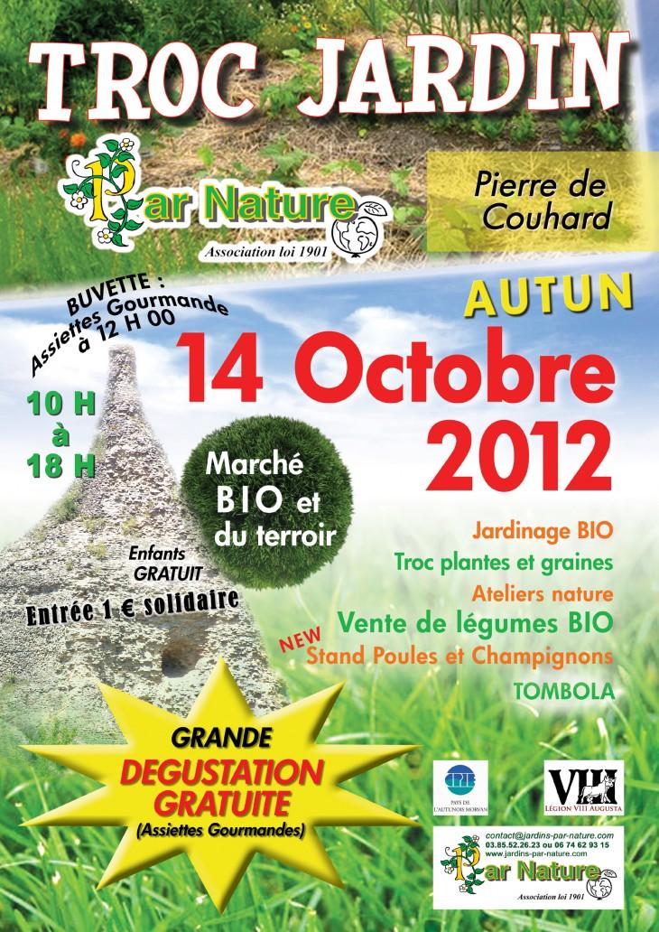 Affiche Troc Jardin 2012