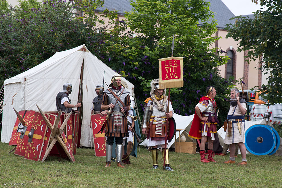 Légionnaires au camp