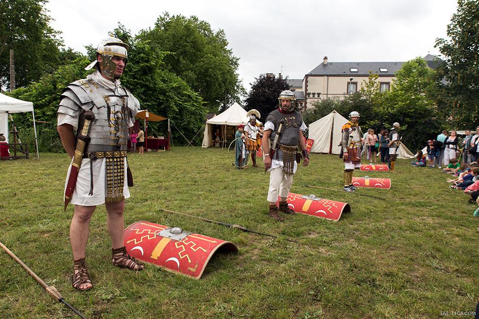 L'équipement du légionnaire romaine