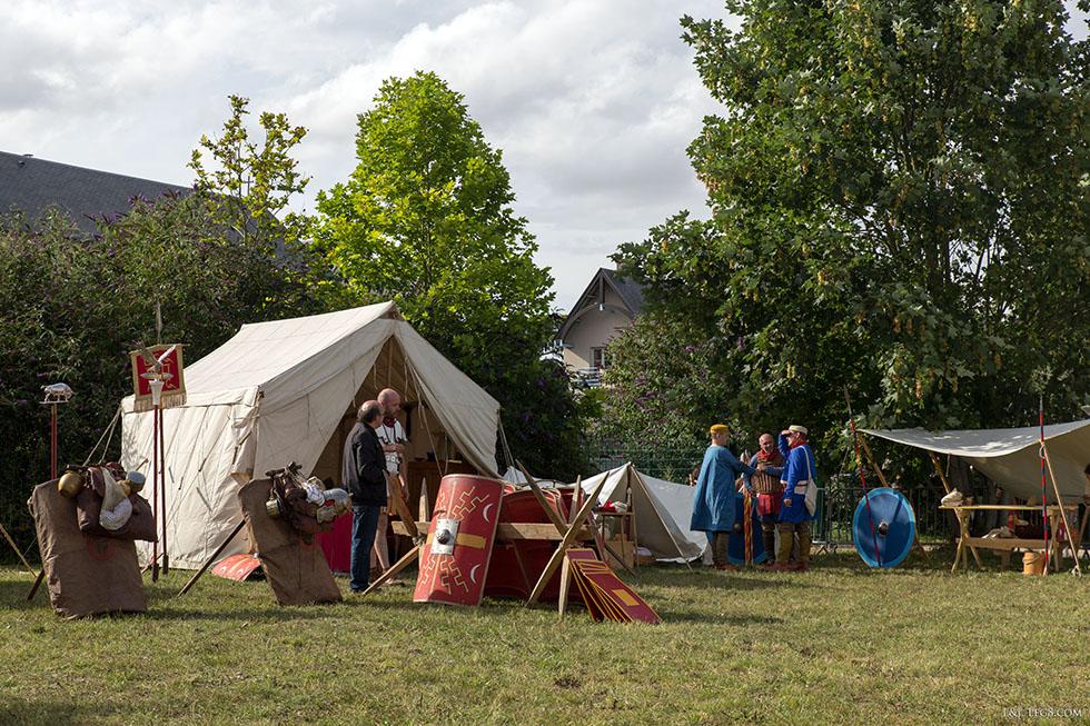 Campement romain