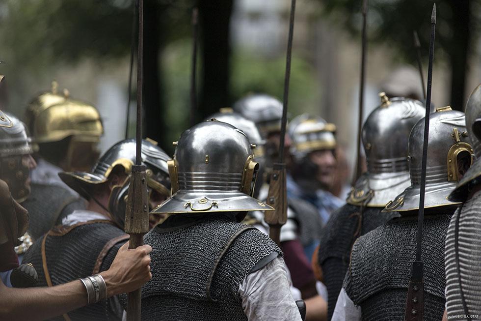 Cotes de mailles, armure la plus populaire de l'armée romaine