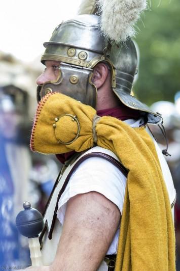 Le paludamentum du centurion