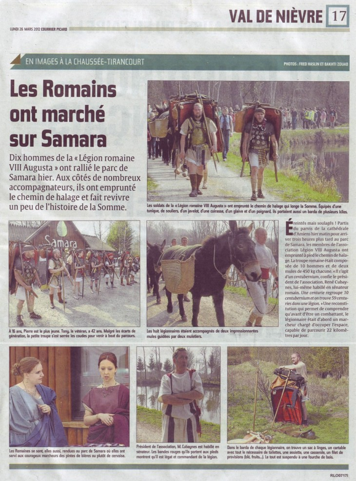 Courrier Picard du 26 mars 2012