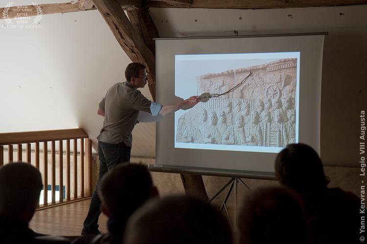 La conférence sur les mulets dans l'antiquité d'Alexandre Colot