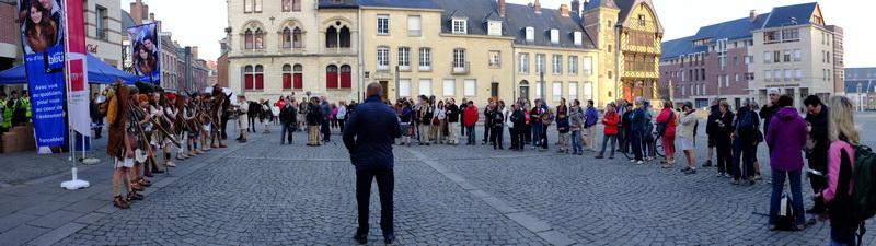 à la rencontre du public d'Amiens