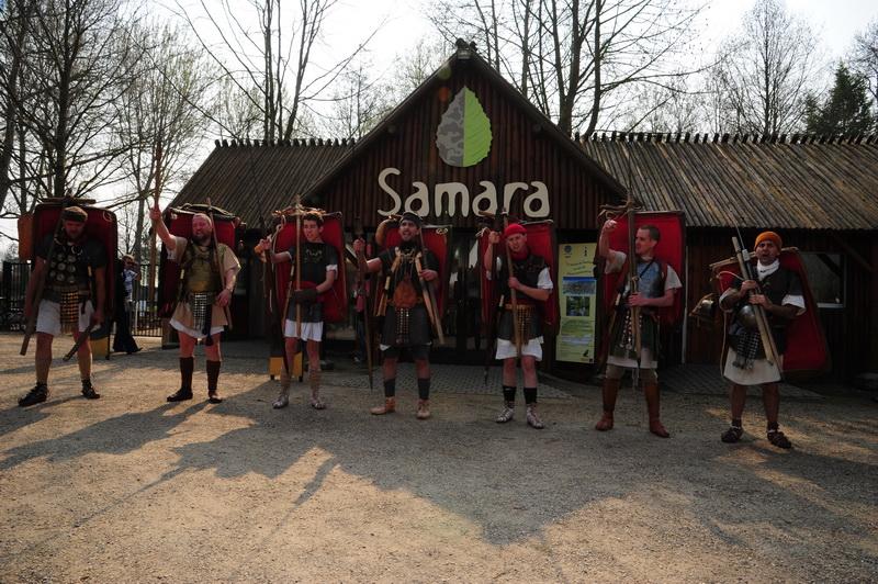au parc de Samara