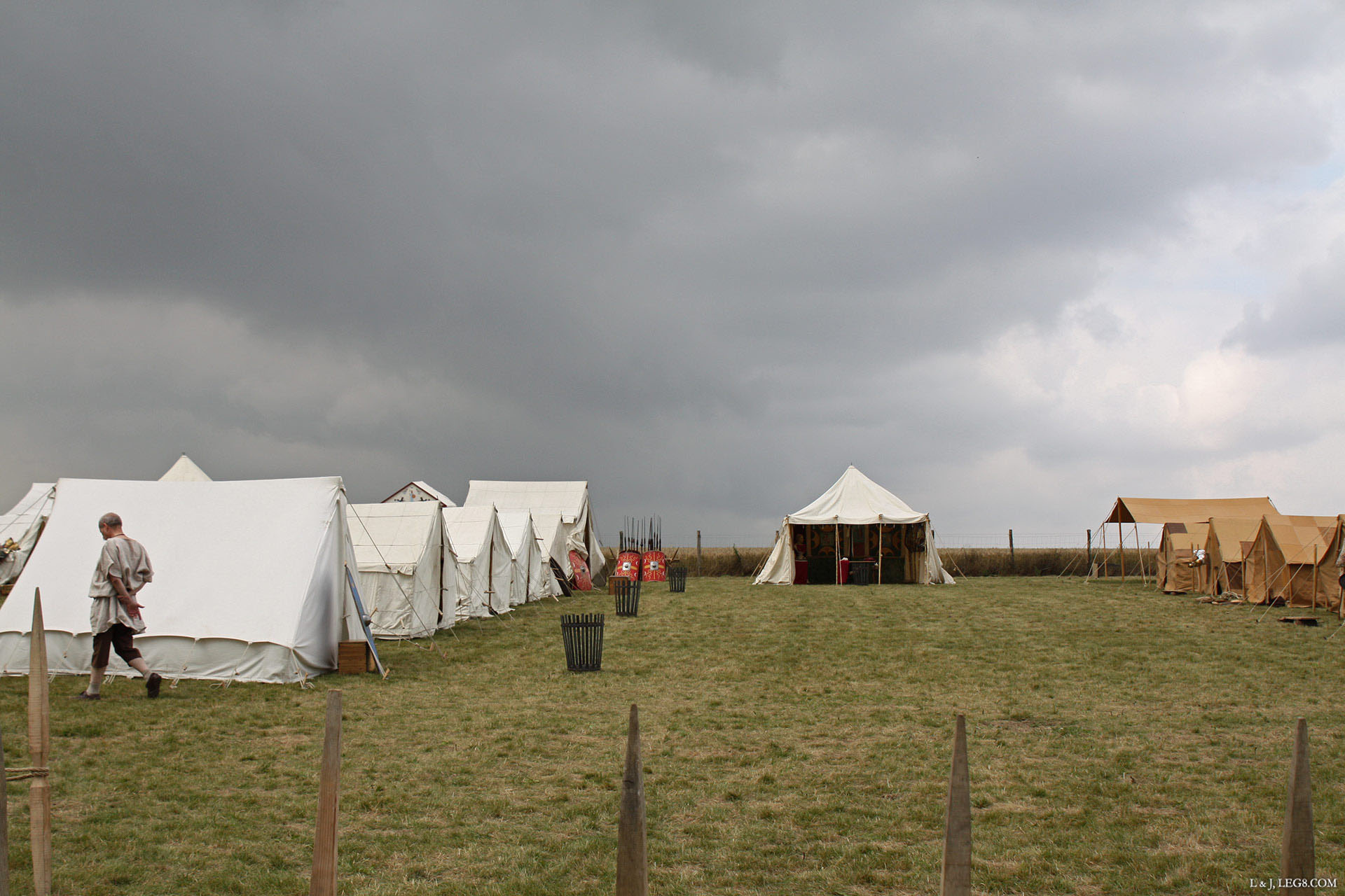 Sur l'oppidum