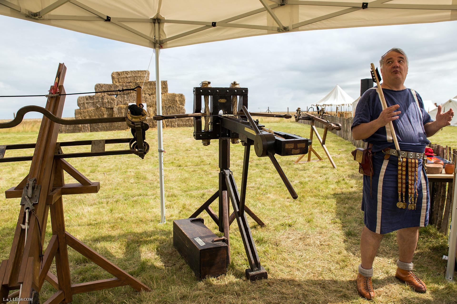 L'artillerie romaine