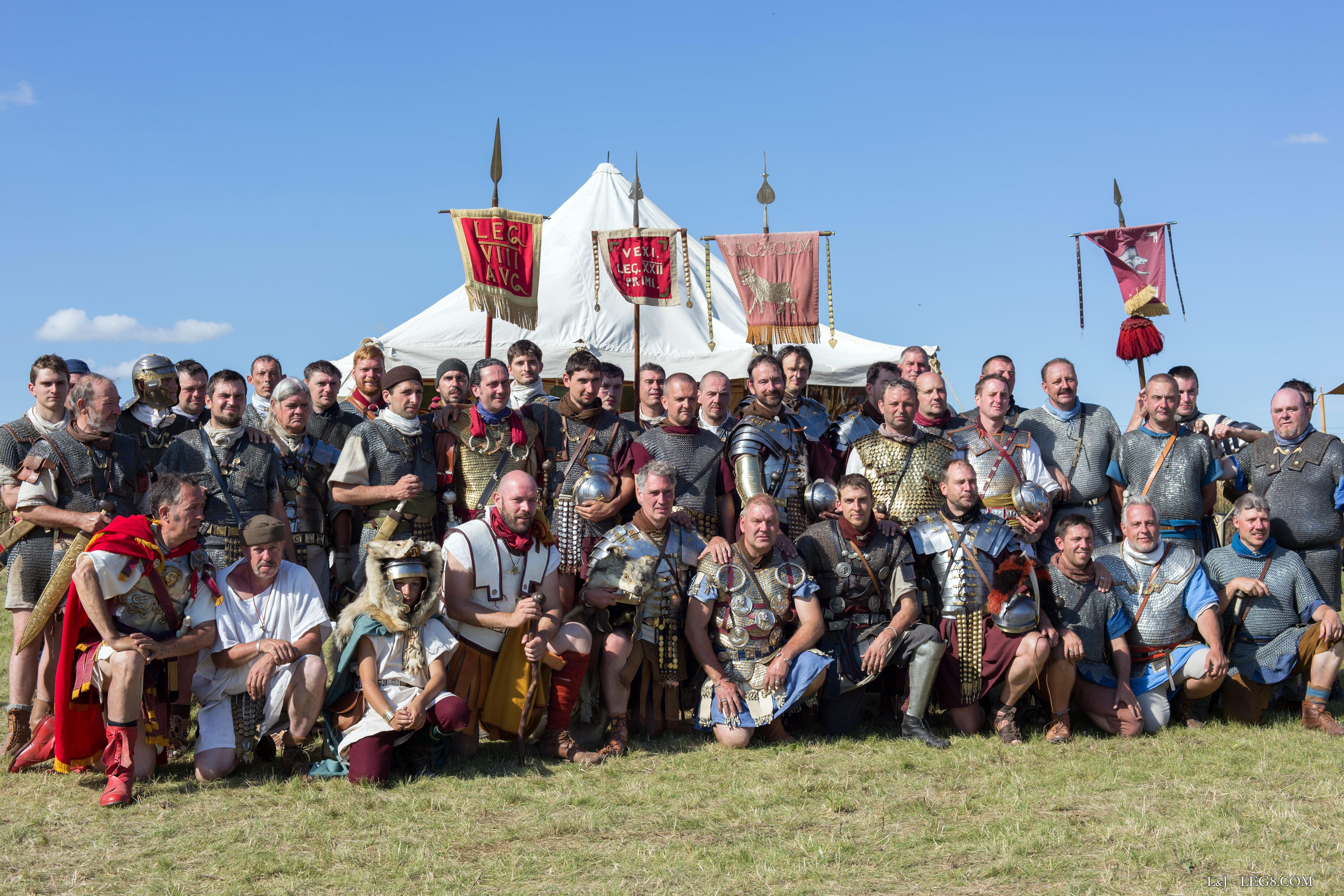 La VIII Augusta, la XXII Primigenia, la X Gemina et la Cohors III vindelicorum