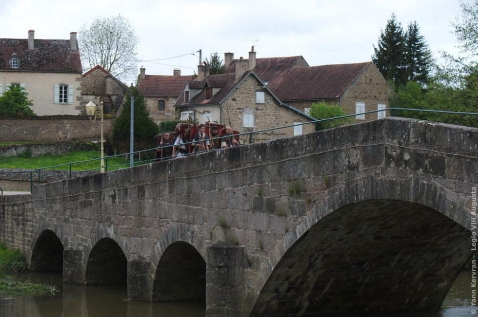 le passage du pont du Vic sous Thil
