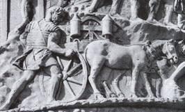 Scène de la colonne Trajane