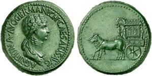 Sesterce de bronze, Thrace, vers 50-54 (Claude)