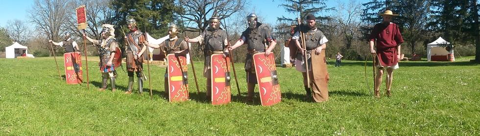 presentation du legionnaire romain