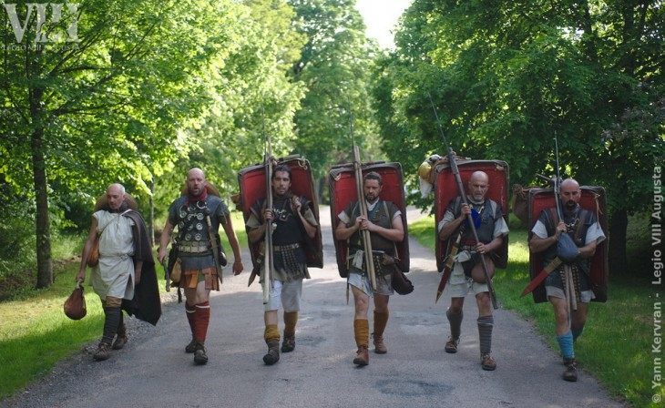 Légionnaires en marche