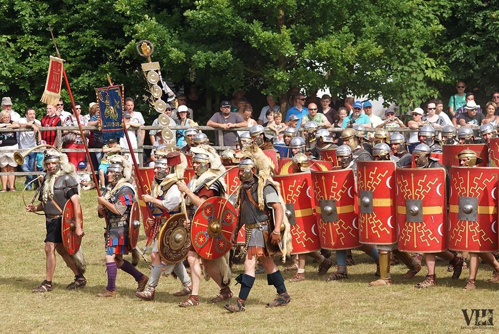 Porte-enseignes de la légion romaine