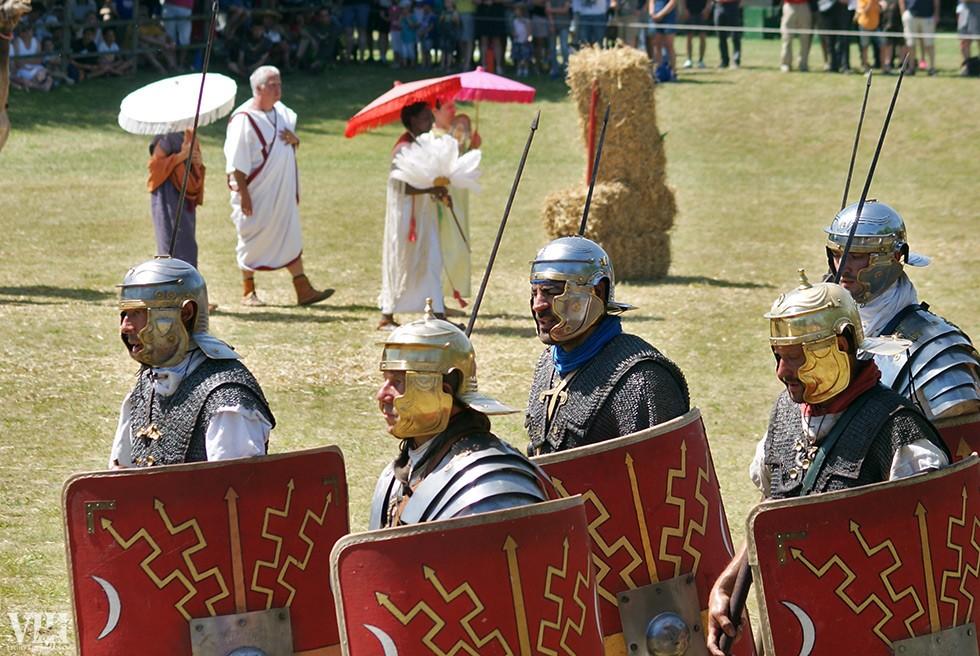 Quelques légionnaires de la VIII.