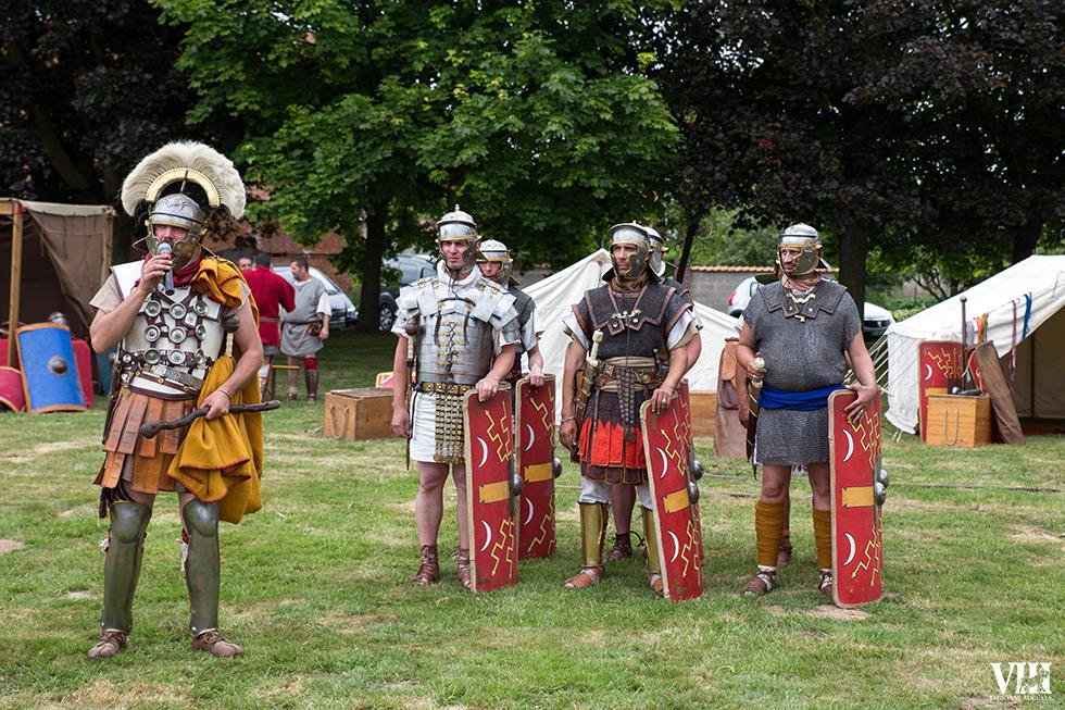 Le centurion et ses hommes