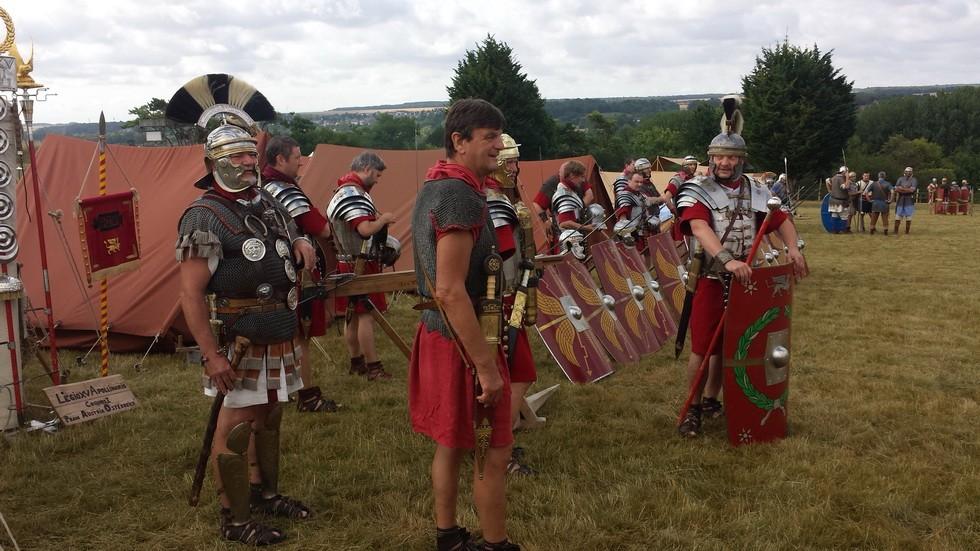la Legio XV Appolinaris au campement