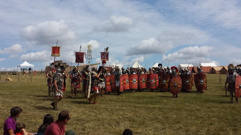 l'arrivée des Légions romaines