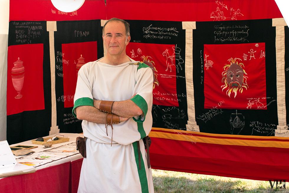 Les inscriptions romaines.