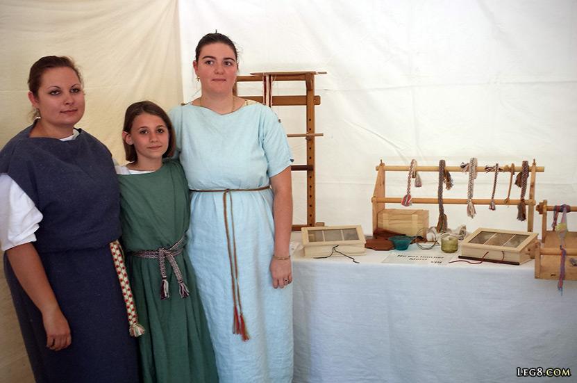 Les tisserandes et la fabrication du tissu