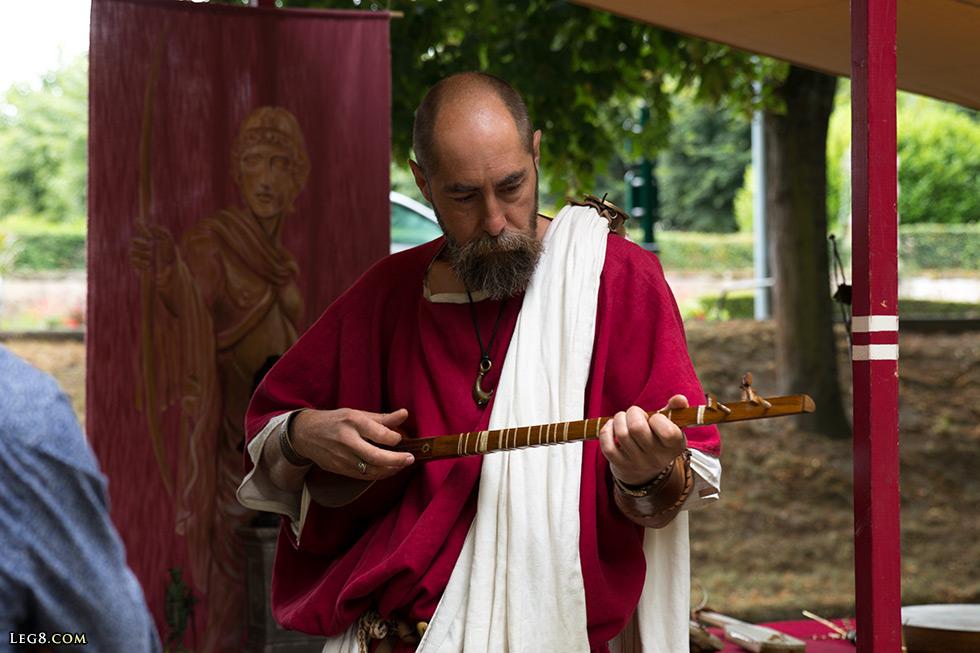 Musicien romain