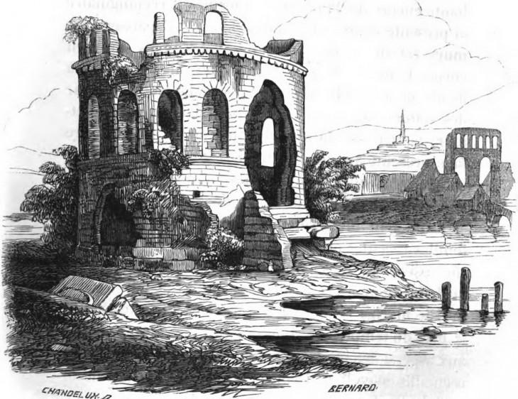 Temple de Pluton - Mémoires de la société éduenne 1848