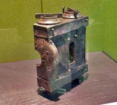 Capitulum restauré exposé au musée de Xanten