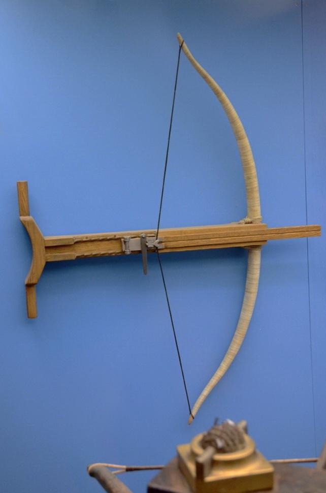gastraphètes reconstituée, musée de Saalbourg