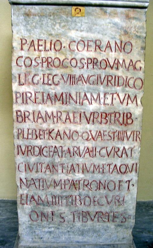 stele Tivoli