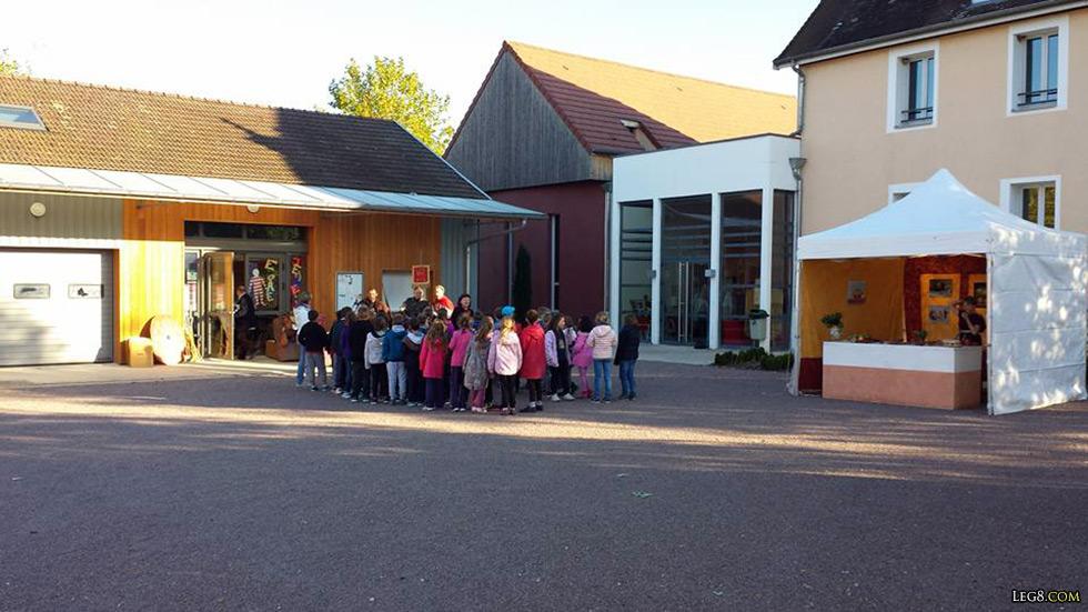 Visite des scolaires