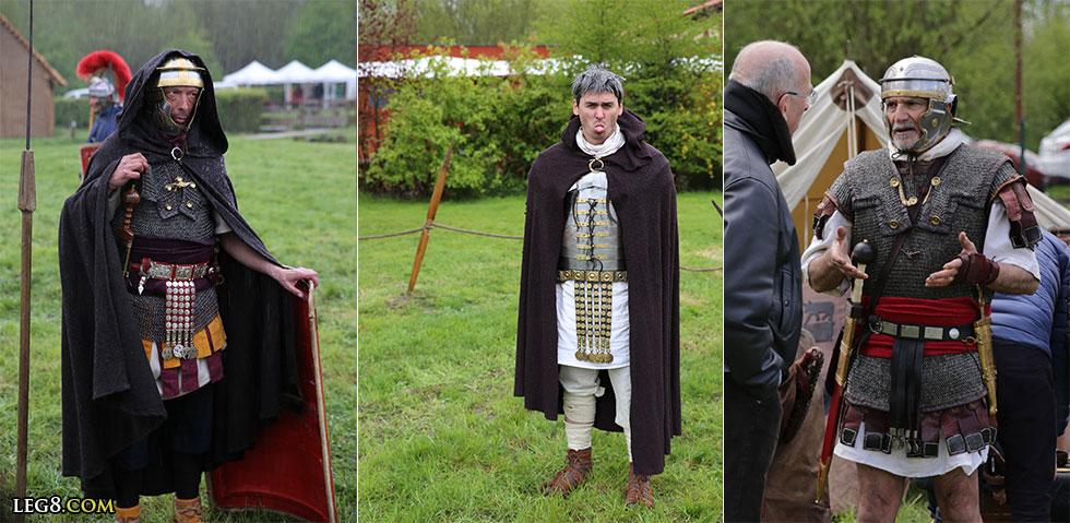 Légionnaires romains