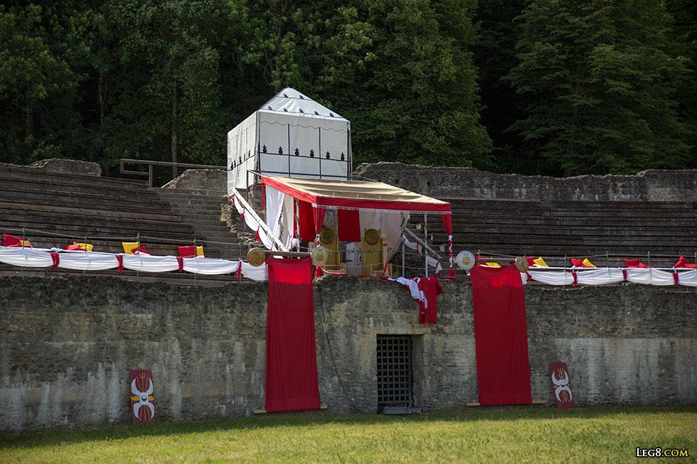 L'amphithéâtre de Martigny