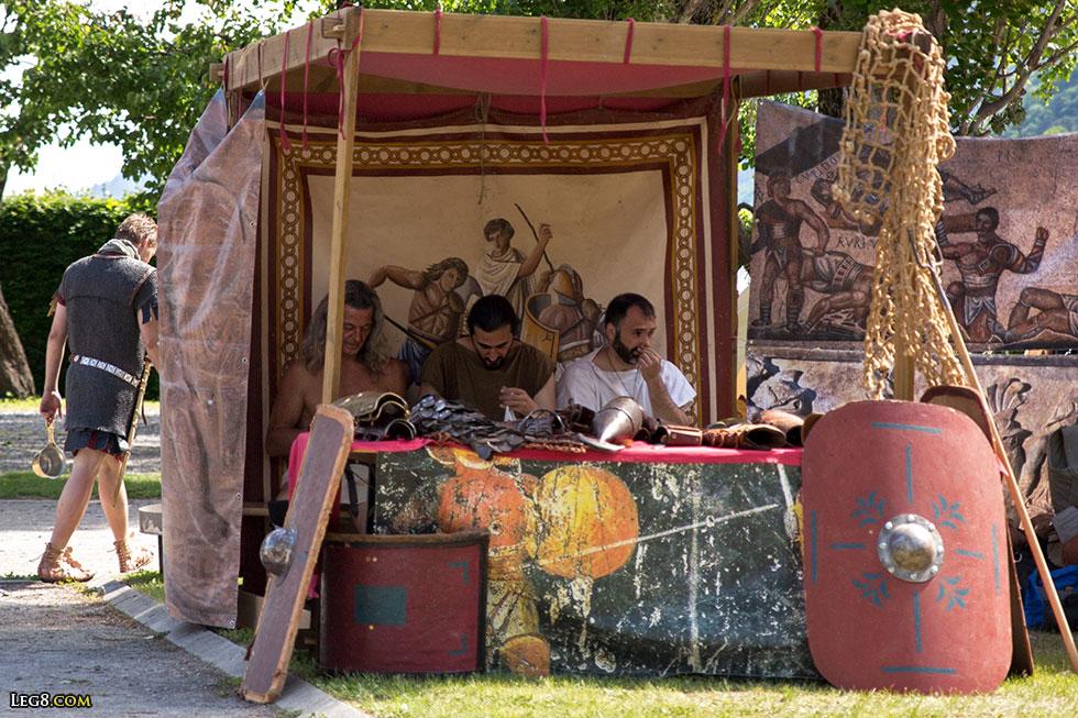 Les gladiateurs d'ACTA se reposent