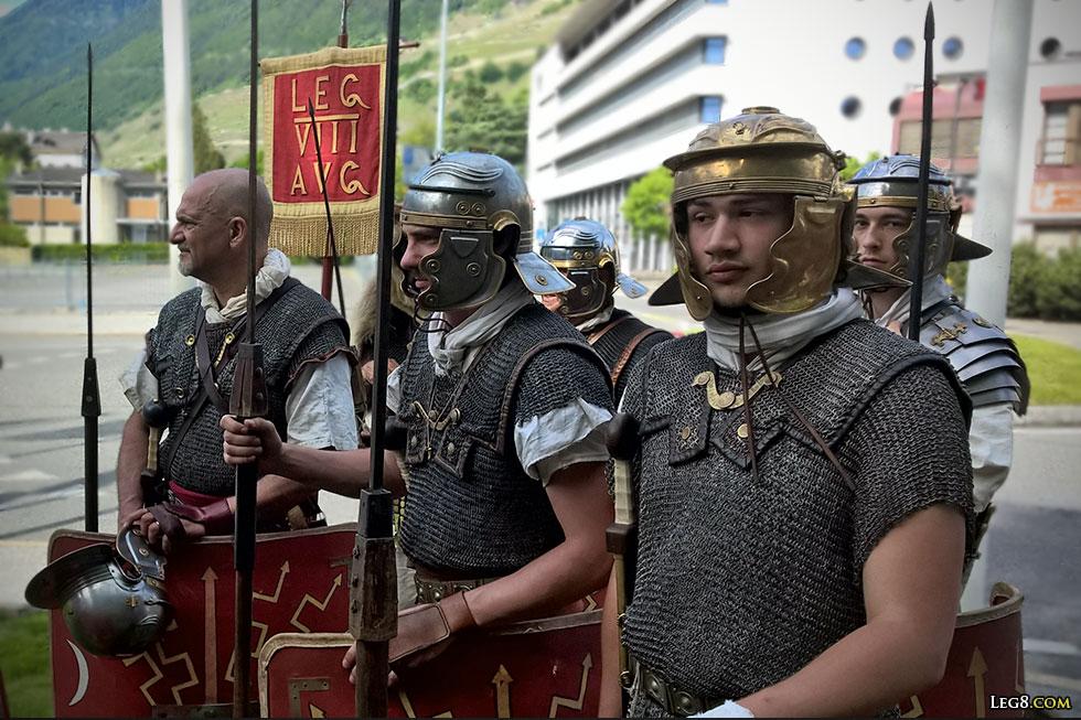 Quelques légionnaires de la VIII