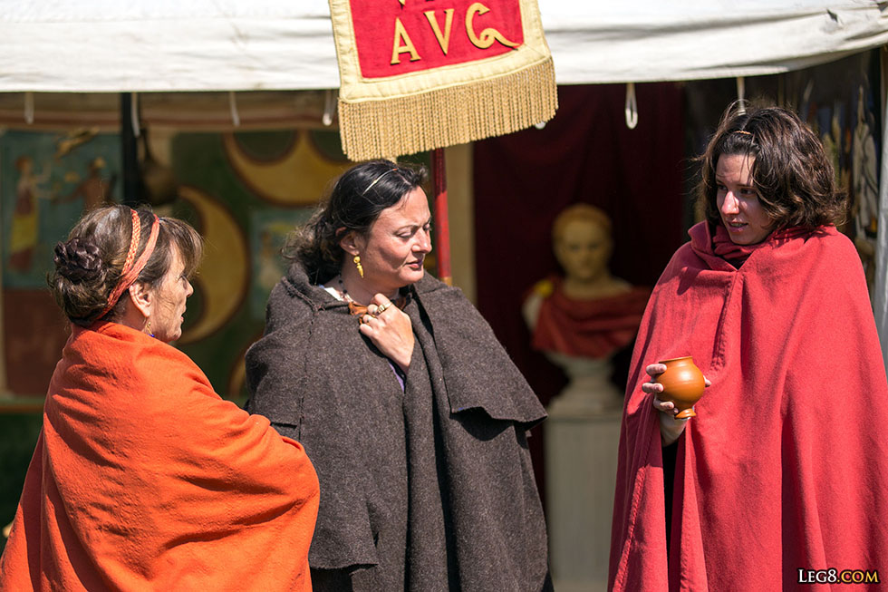 Des femmes romaines