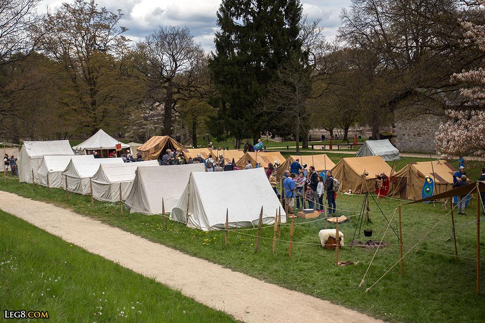Les tentes de notre campement