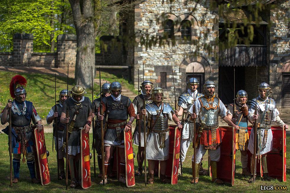 Soldats romains.