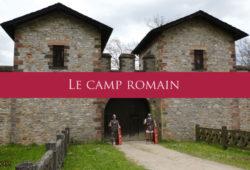 La vie quotidienne dans un camp romain