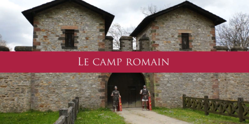 vie quotidienne d'un camp romain