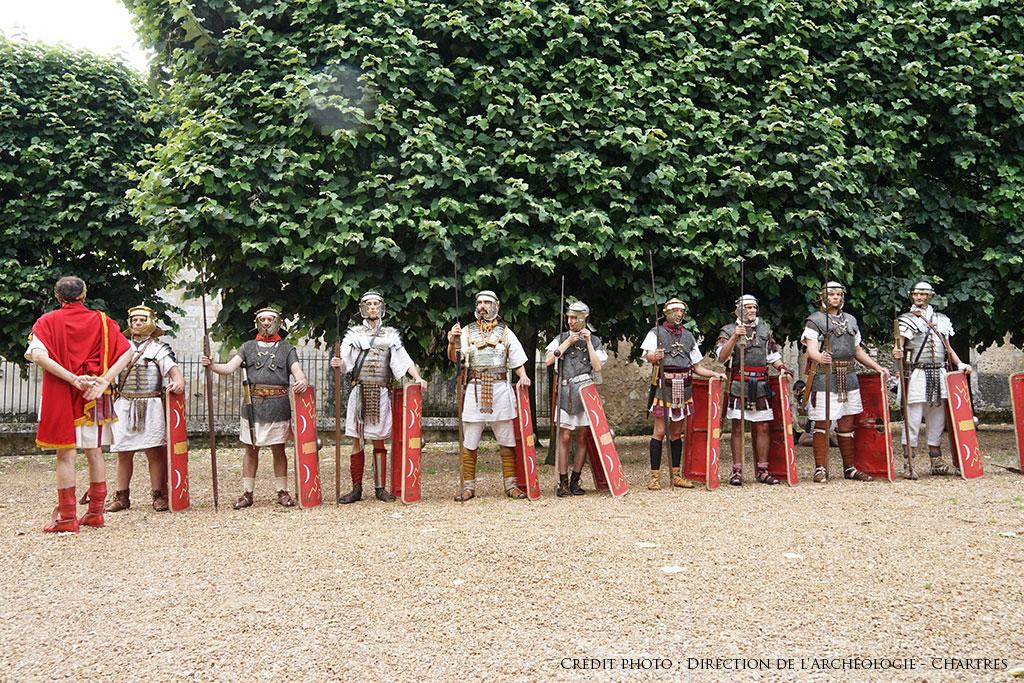 Légionnaires à Chartres