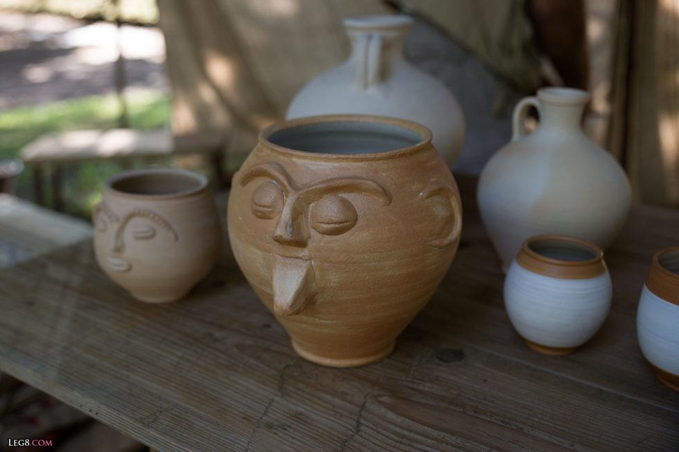 Vase à visage
